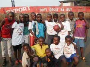 Hope for kids without hope action in the DRCongo ; activity for children in need