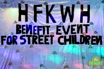 Benefit event for street children of DR of Congo