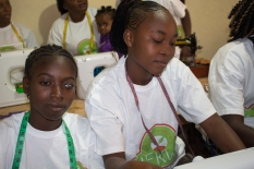 Sewing education projet of hope for kids without hope foundation