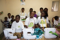 Girls sewing education projet of hope for kids without hope foundation