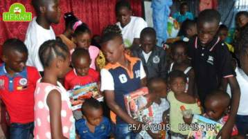December event of Hope for kids without hope foundation